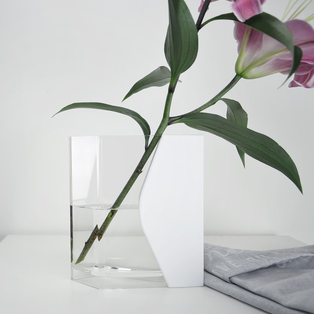 LANTO|INFINITY VASE 藍傢花器2入組 (黑色)
