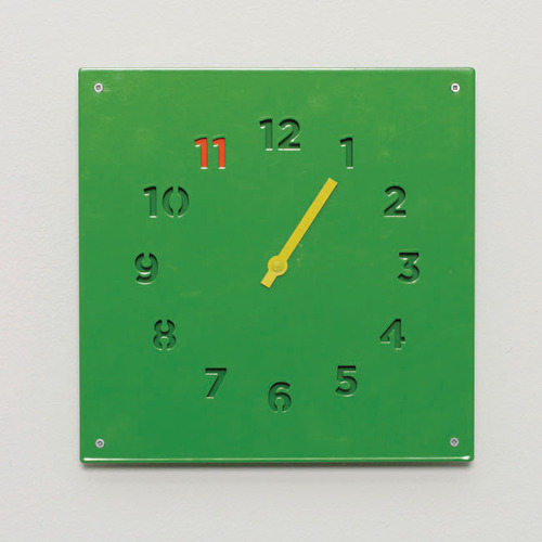 BLOCK|Wall Clock 掛鐘 (綠色)