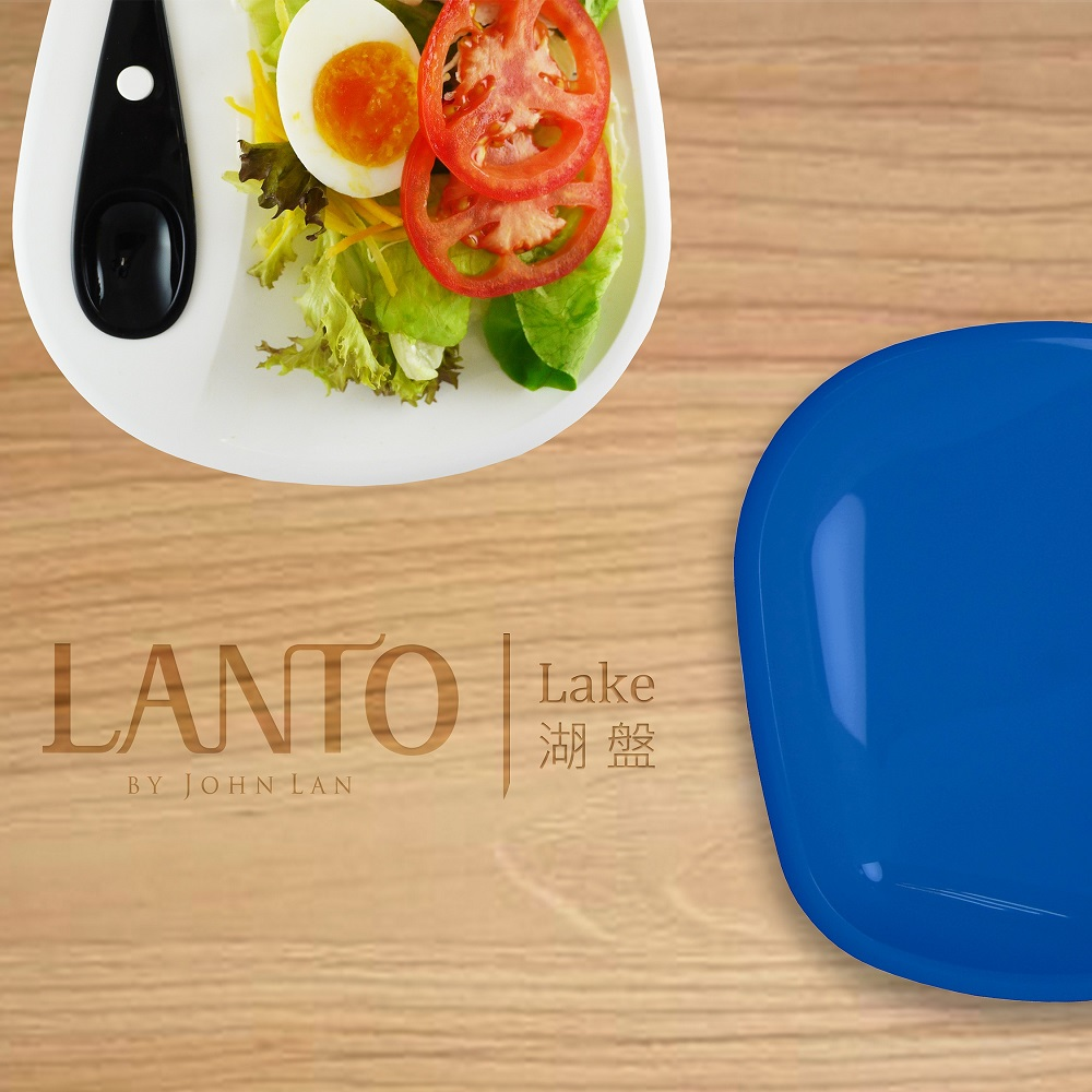 LANTO|湖盤 LAKE 5件組(桃紅色)
