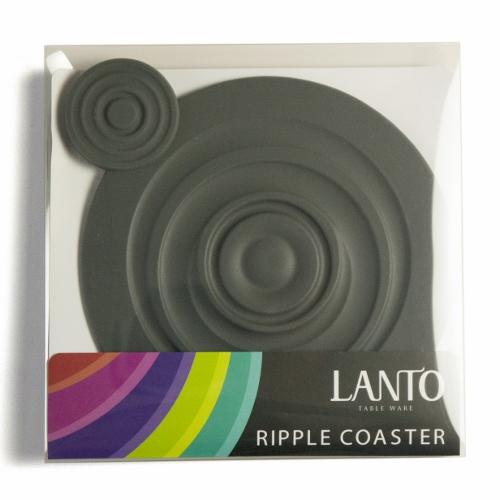 LANTO Ripple Coaster 漣漪杯墊組(灰)