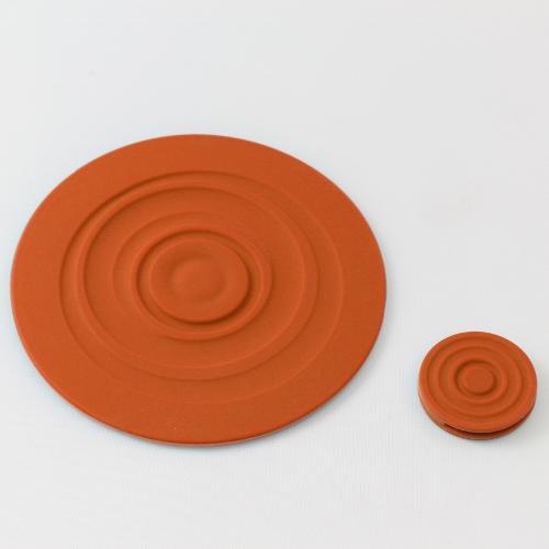 LANTO|Ripple Coaster 漣漪杯墊組(橘)