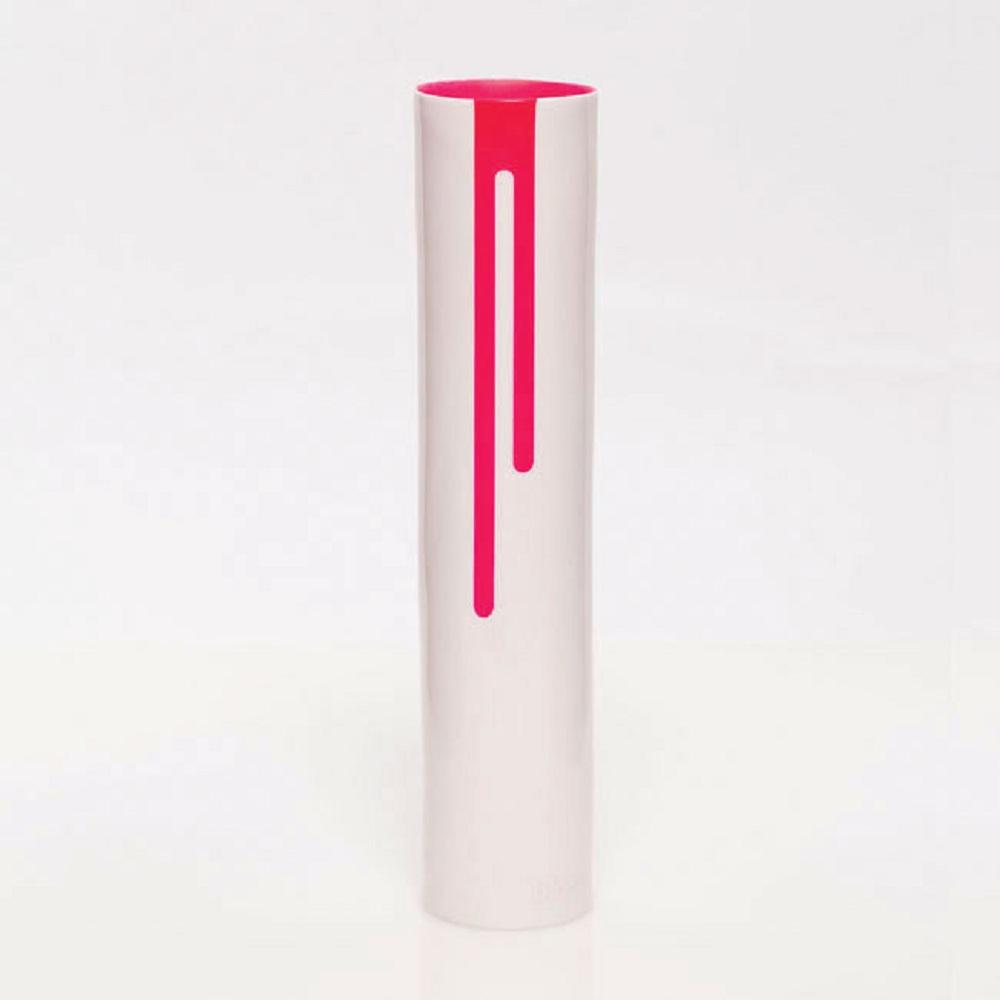 BLOCK Neon Vase 霓虹花瓶 (桃紅色)