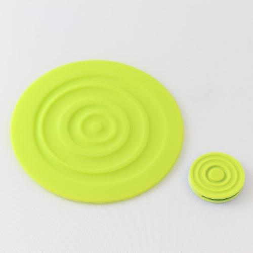 LANTO|Ripple Coaster 漣漪杯墊組(黃)