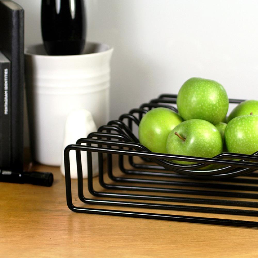 BLOCK|Wire Fruit Bowl 線果籃 (黑)