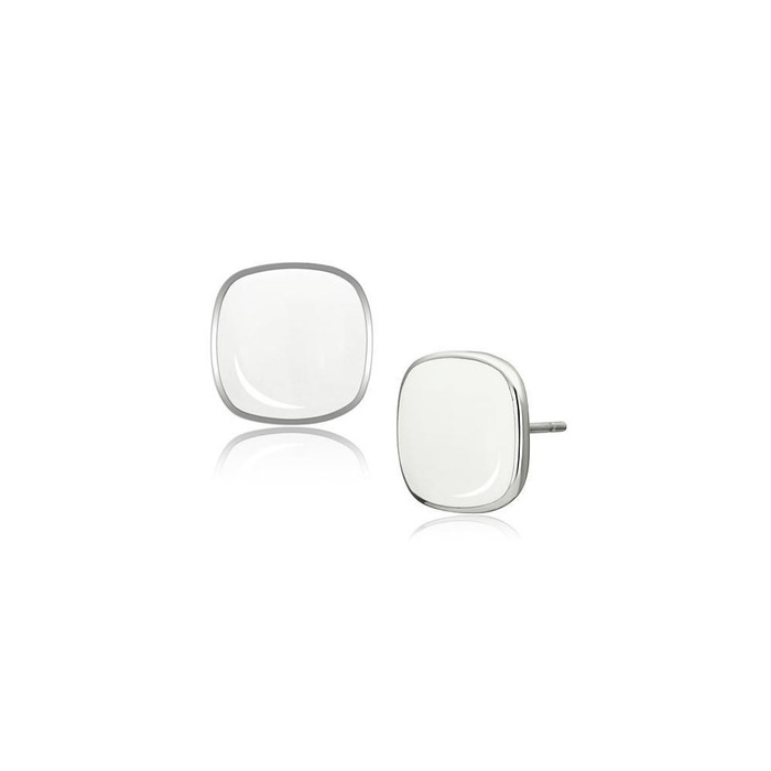 Miaarte 方形不鏽鋼耳環