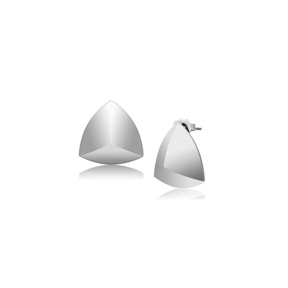 Miaarte|幾何圖形不銹鋼耳環