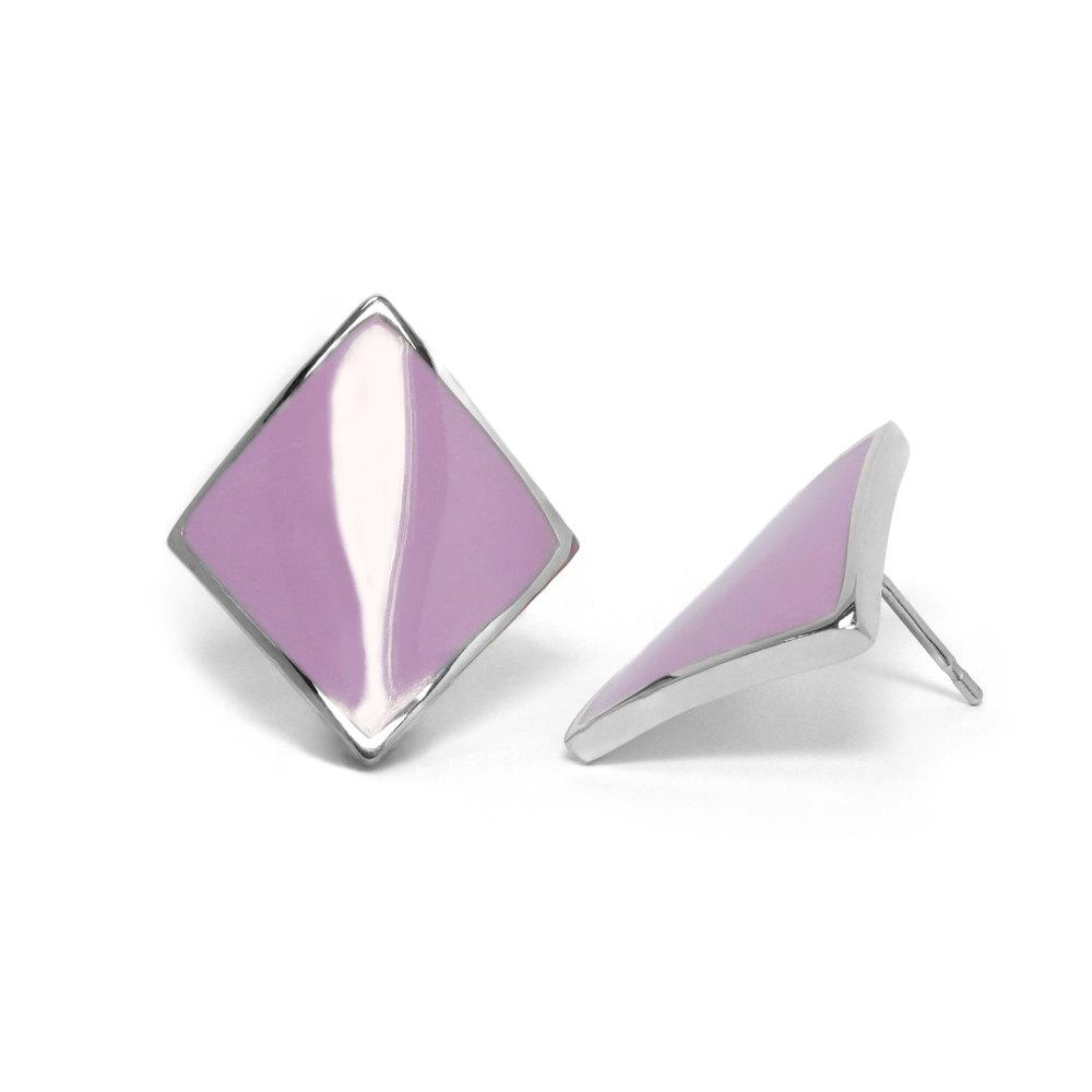 Miaarte|幾何造型不鏽鋼耳環