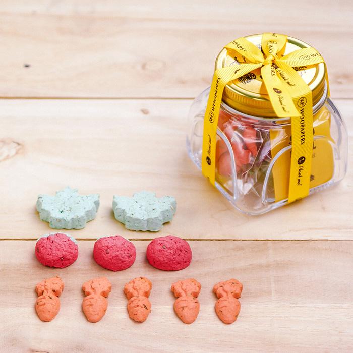 (複製)WOOPAPERS|Tea Time 小午茶時光~ 杯子蛋糕種子球植栽盆栽組