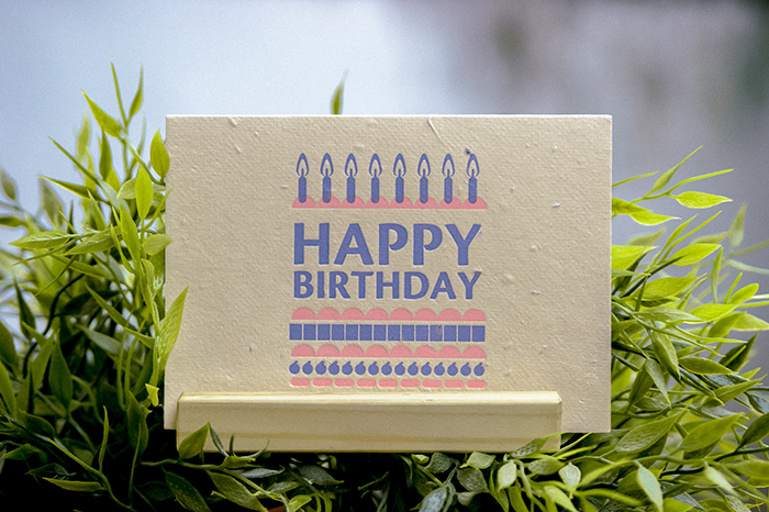(複製)WOOPAPERS|生日快樂 Happy Birthday! 種子卡片
