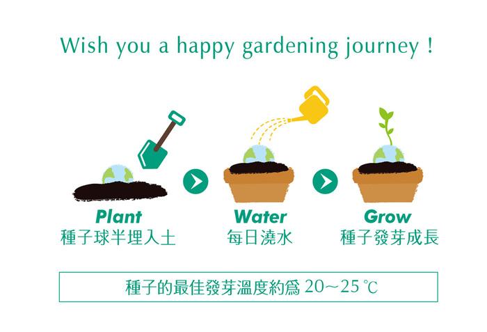 (複製)WOOPAPERS|{Hello EARTH} 地球種子球植栽盆栽組