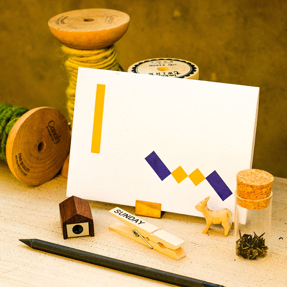 WOOPAPERS|種子紙萬用卡-彩色積木