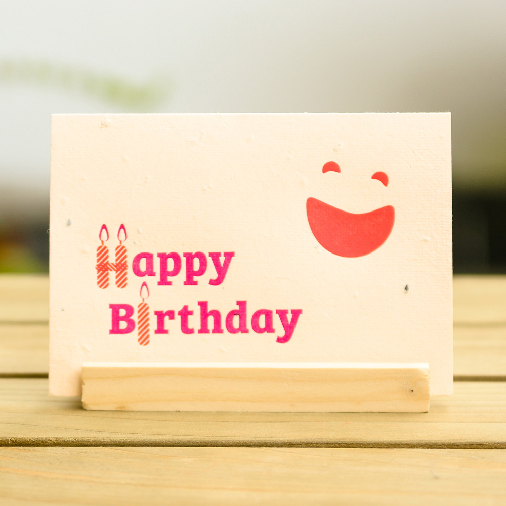 WOOPAPERS|生日快樂 Happy Birthday! 種子卡片