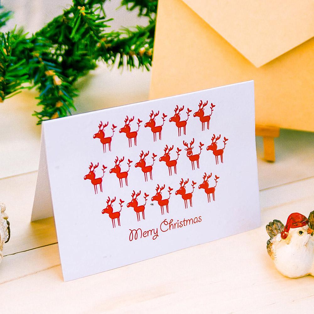 WOOPAPERS|種子紙聖誕卡 Merry Christmas (麋鹿 Moose)