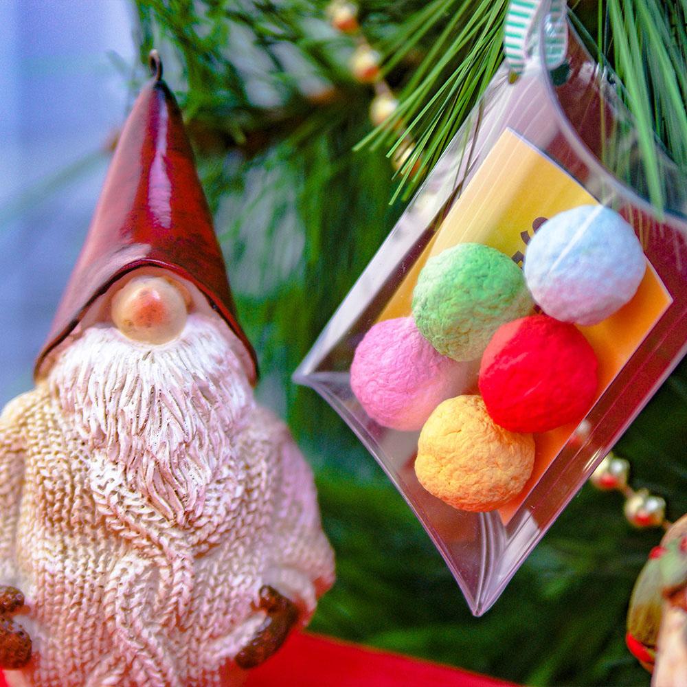 WOOPAPERS|聖誕五彩種子球包