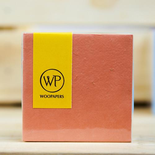 WOOPAPERS|種子便條紙磚 混色款 - Joy  (淺橘、粉膚、春天綠)
