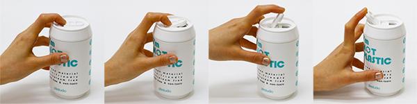 PLAStudio-創意設計-玉米環保杯-ECO CAN-熊貓限定版-280ml-白色