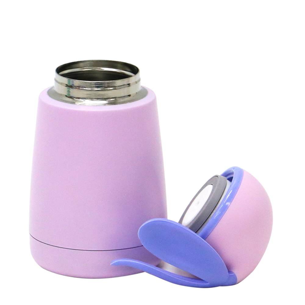PlaStudio|邦妮兔不鏽鋼保溫杯-紫色