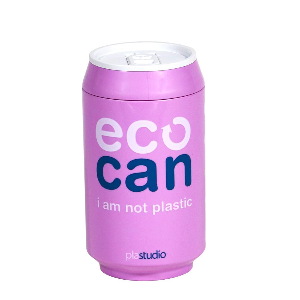 plastudio|玉米材質環保杯-Eco Can-280ml-紫色-生物可分解材料