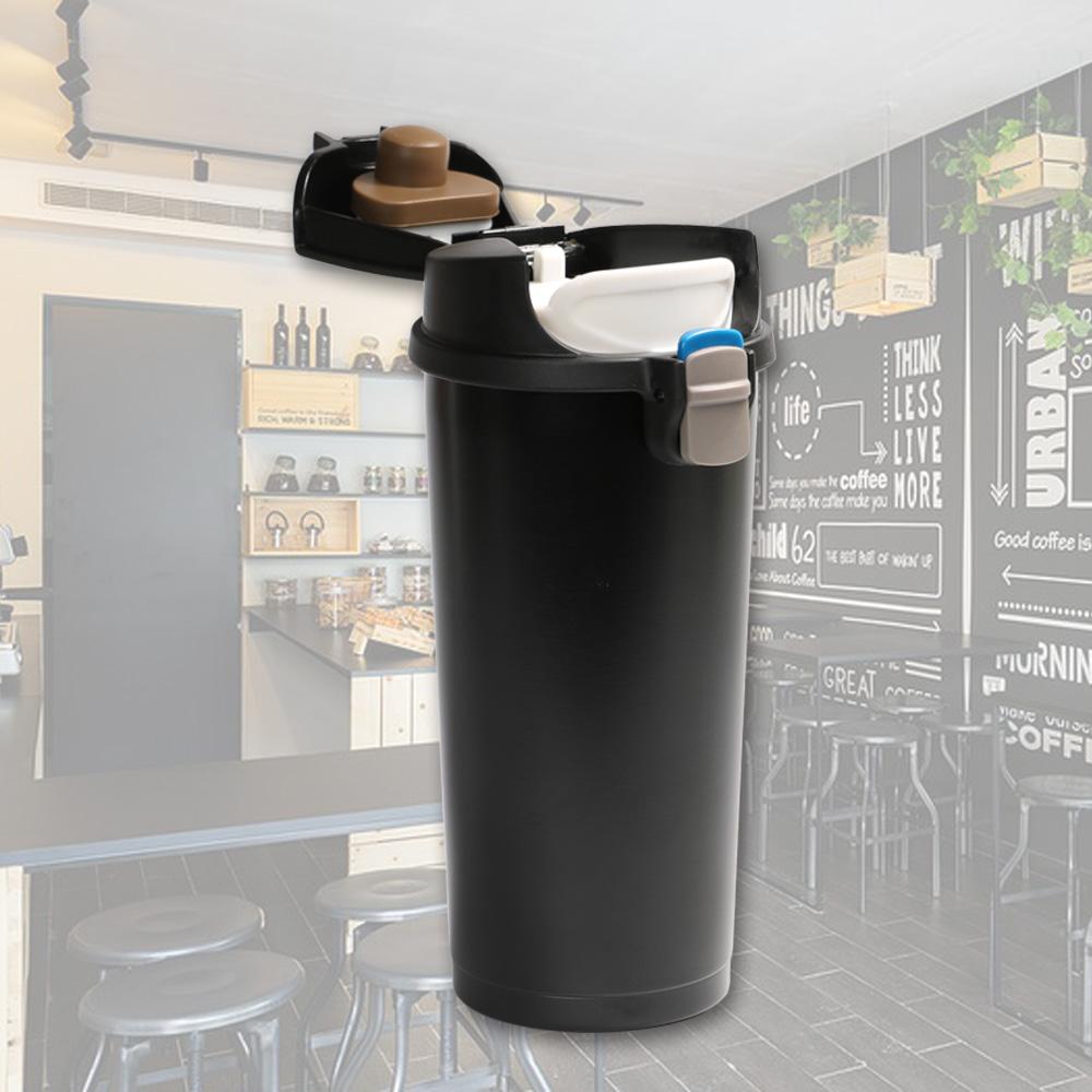 plastudio Pop! Mug 不鏽鋼保溫杯-黑色