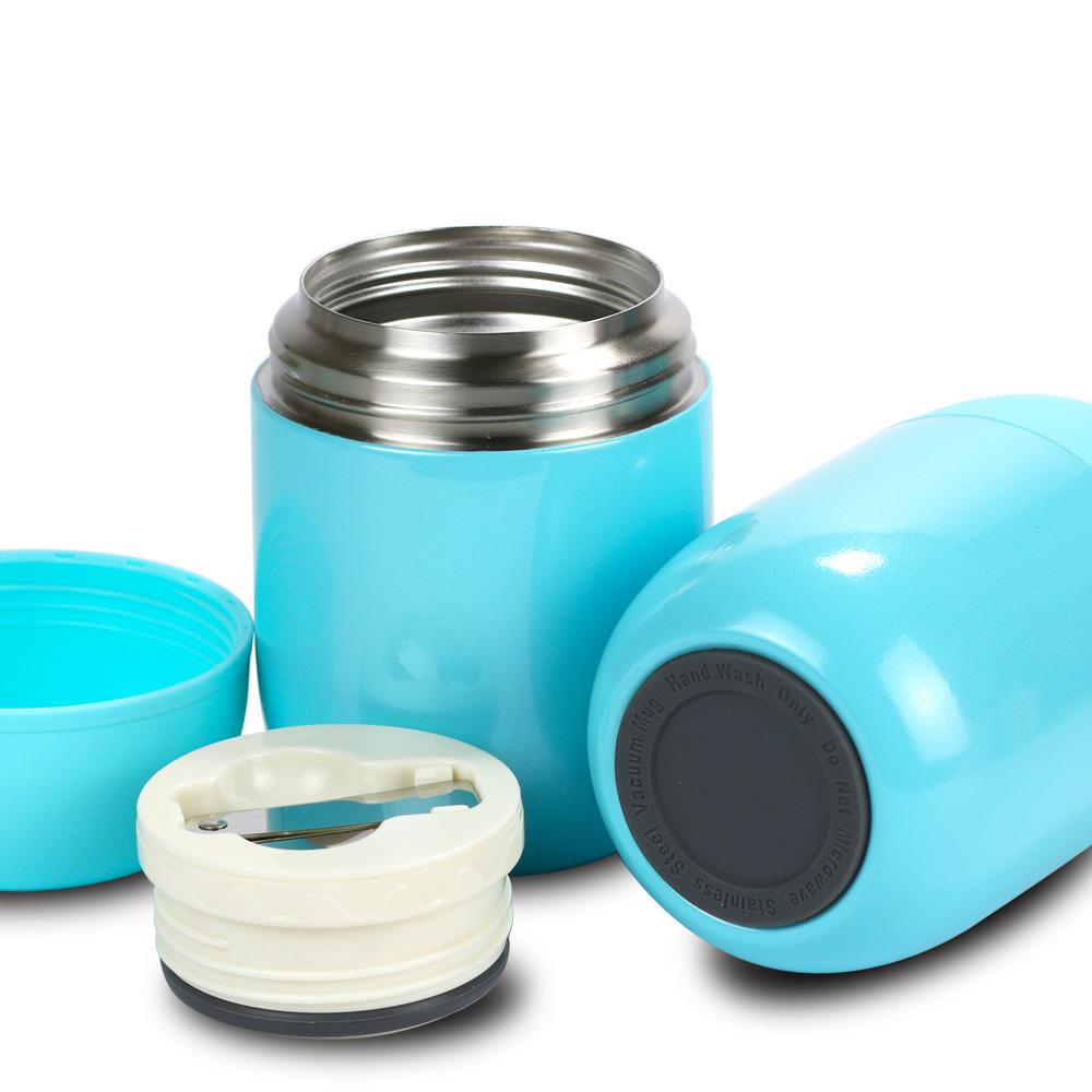 plastudio|Jaro不鏽鋼真空保溫保冷悶燒杯-藍色