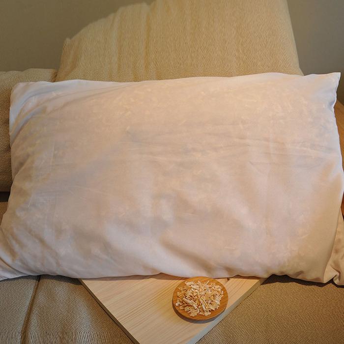 一郎木創|檜木枕芯(大)+檜木腰枕 8折