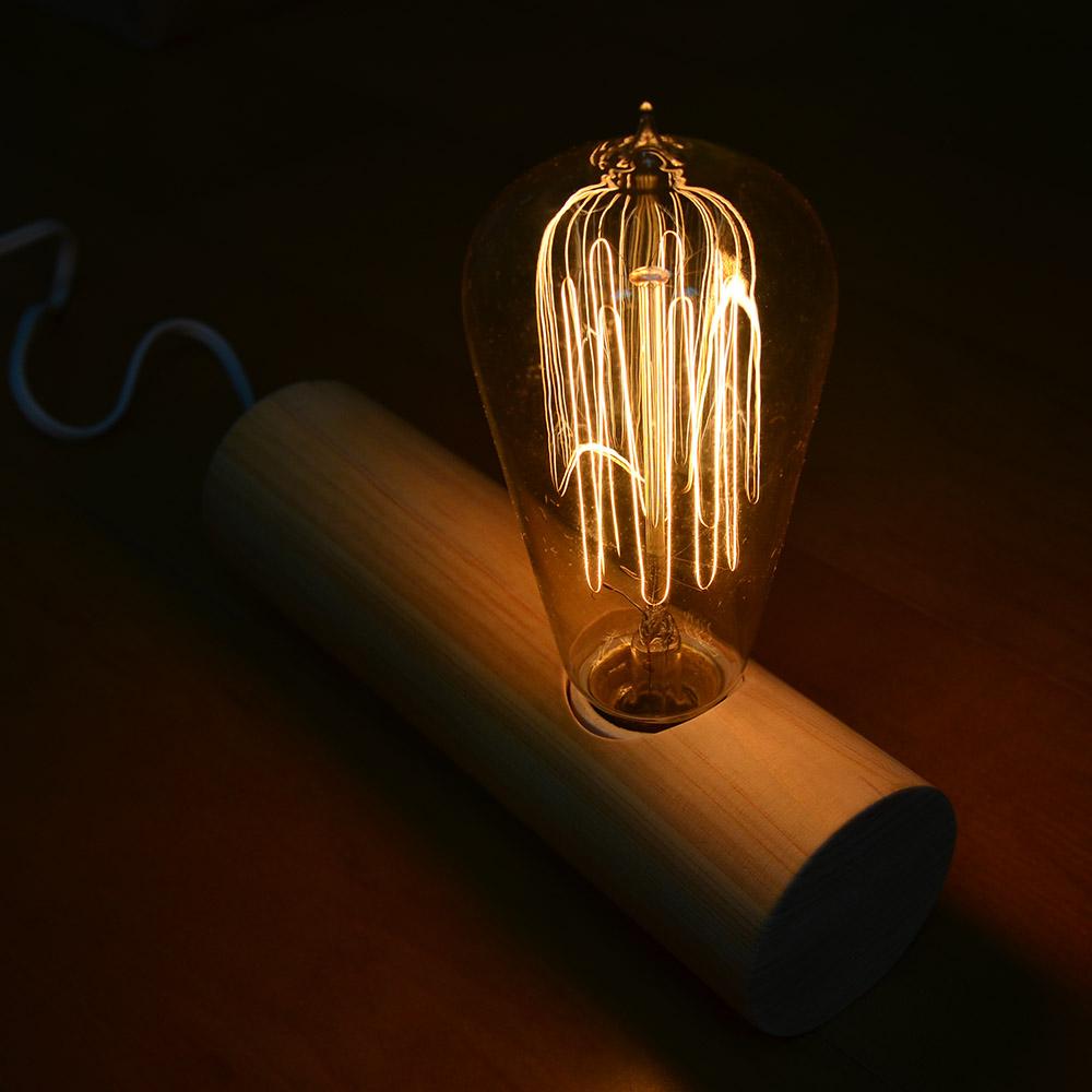一郎木創|心持木柱燈(附燈泡) 氣氛燈飾