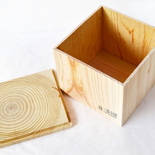 一郎木創|心持木收納箱-參寸箱