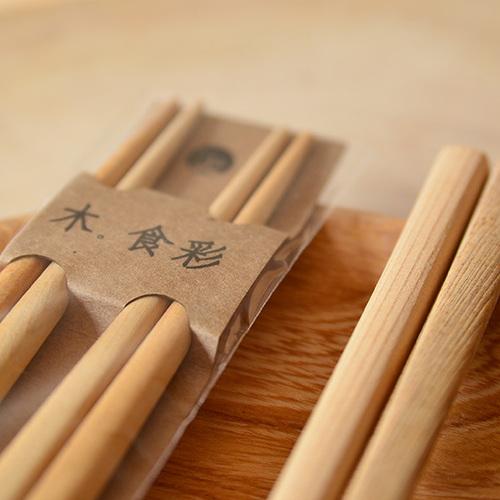 一郎木創 檜木雙人筷
