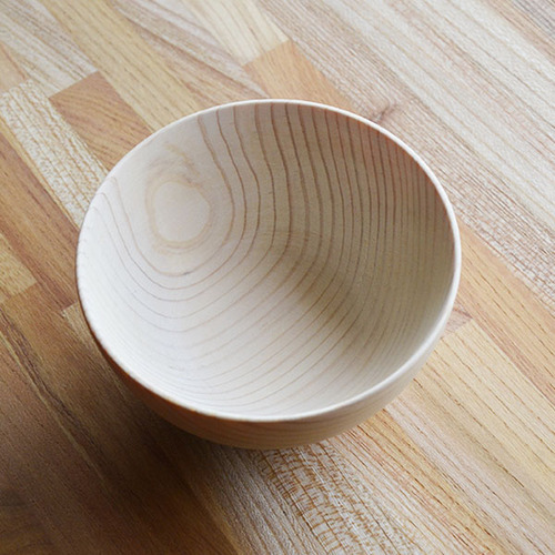 一郎木創|日檜碗 木碗