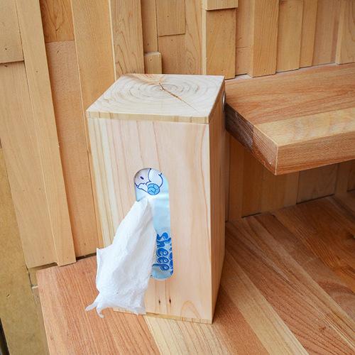 一郎木創|心持木面紙盒(大)