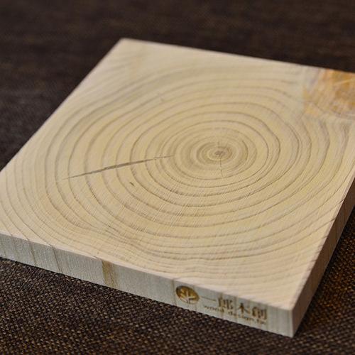 一郎木創|心持木杯墊-方形(2片)