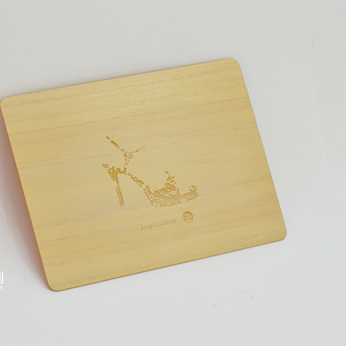 一郎木創 PURE卡(2入)木質卡片
