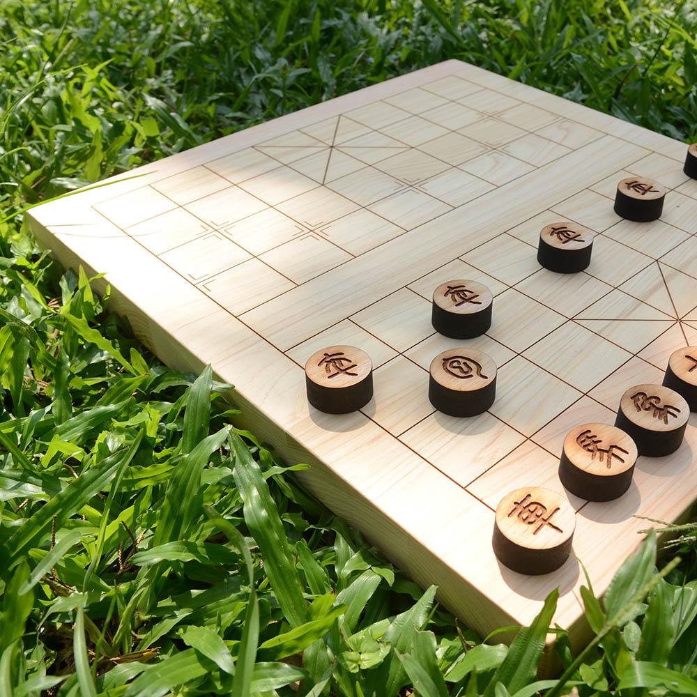 一郎木創|日檜象棋盤(不含象棋)