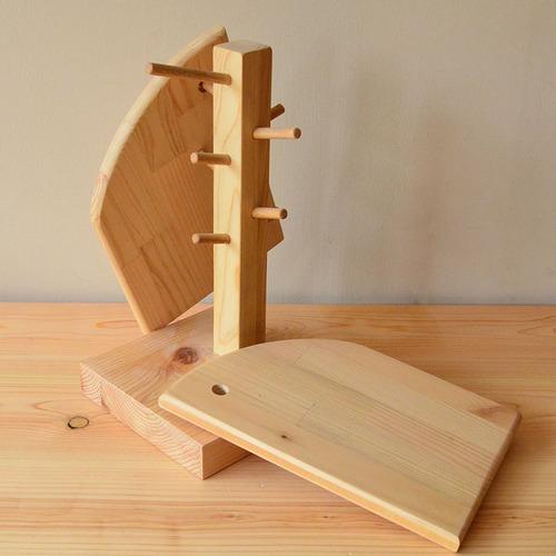 一郎木創|樹形立架+隔熱墊 杯架