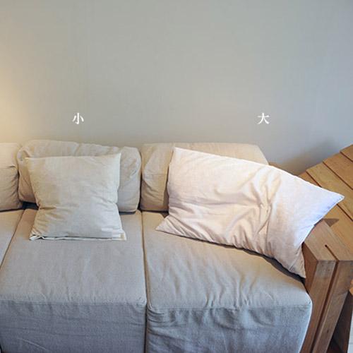 一郎木創|兩顆無垢檜木枕芯(大) 檜木纖填充