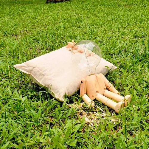 一郎木創|檜木枕芯(大)+檜木腰枕