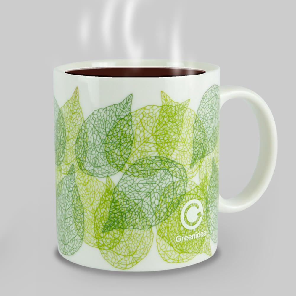 Green Idea|Winter Spring 變色馬克杯(白色)