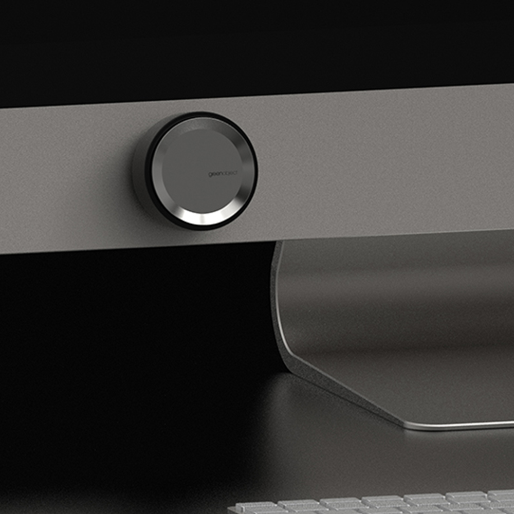 Green Object|Circ磁吸擴香座-奢華金(附風口夾及5ml香氛)