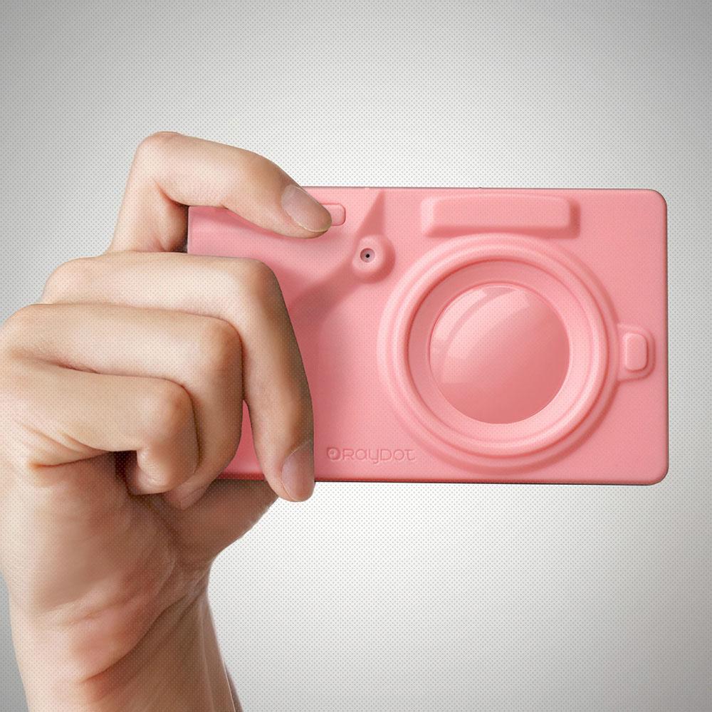 RayDot|相機筆記本(粉紅)