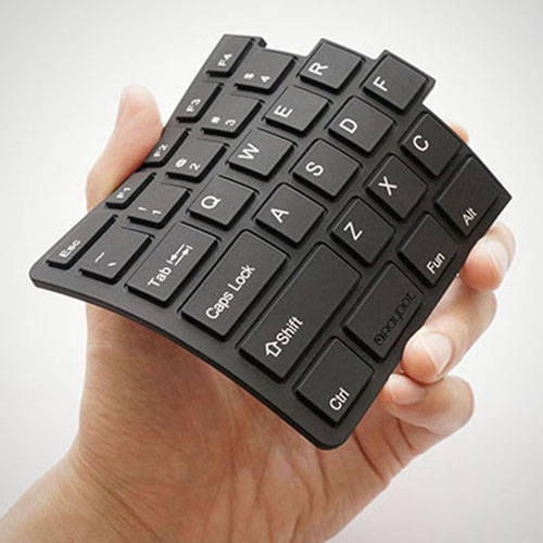 RayDot|鍵盤杯墊-B(黑)