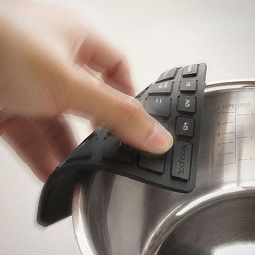 RayDot|鍵盤杯墊-A(黑)