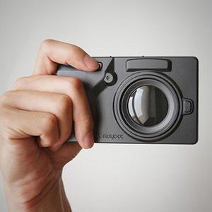 RayDot|相機筆記本(黑)