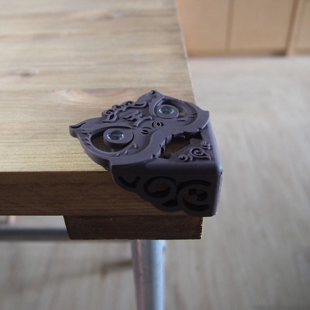 yeduo|瑞獅護角-防撞桌角(咖啡)