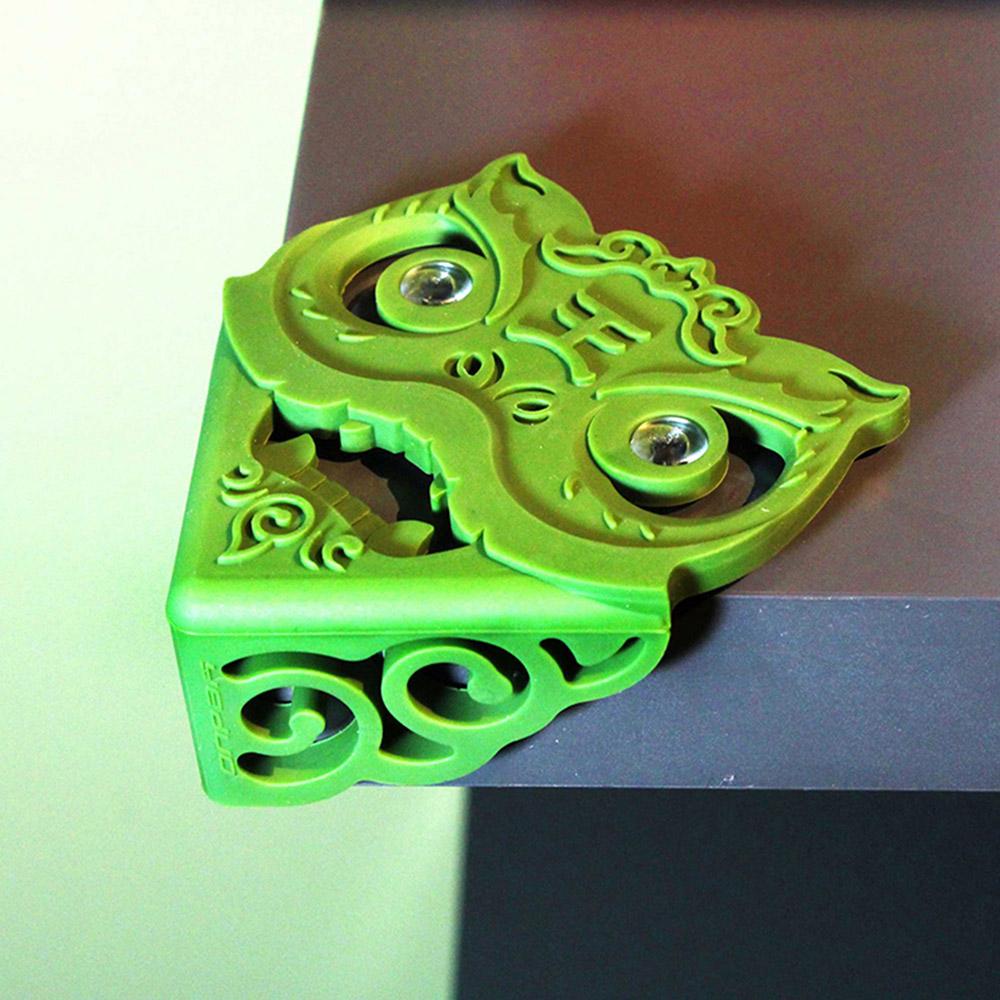 yeduo|瑞獅護角-防撞桌角(墨綠)