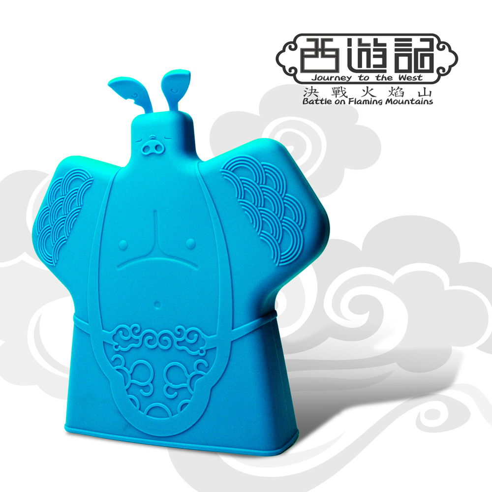 yeduo|西遊記決戰火焰山隔熱手套-八戒(天藍)