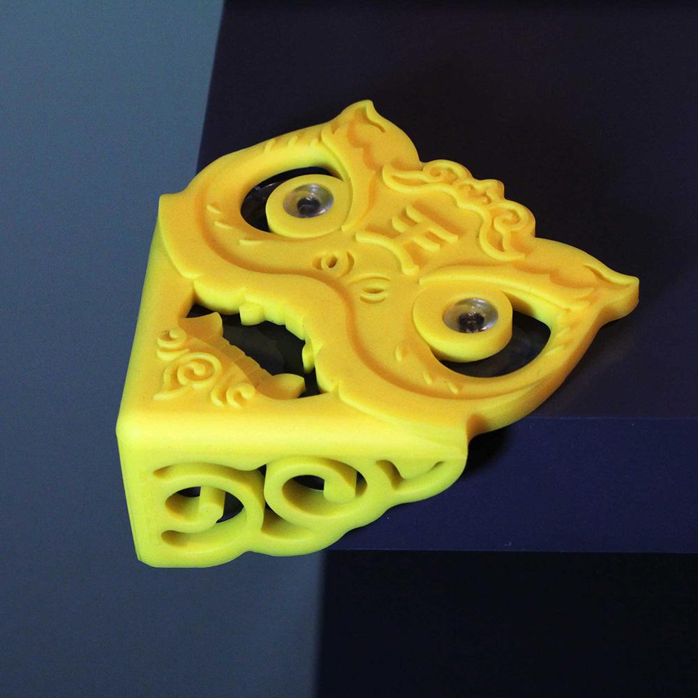 yeduo|瑞獅護角-防撞桌角(黃)