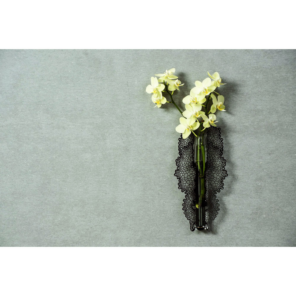 yeduo|花器-蝶舞黑色