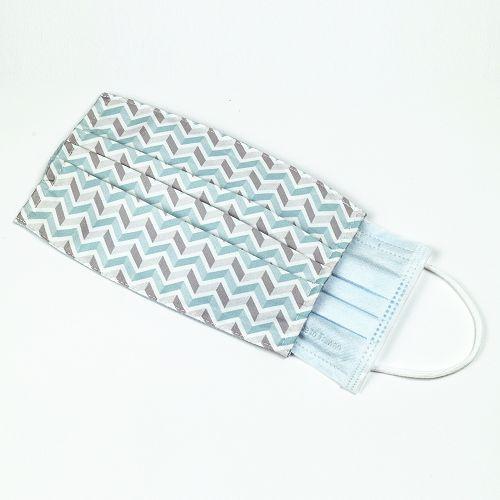 yeduo 防潑水口罩套-藍藍撞色款