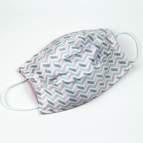 yeduo|防潑水口罩套–粉藍撞色款
