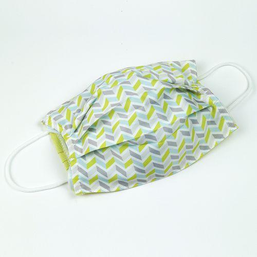 yeduo|防潑水口罩套-黃藍撞色款
